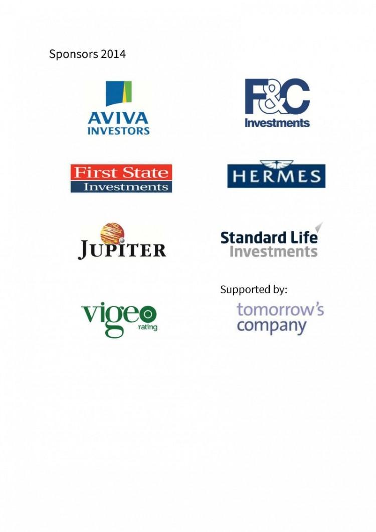 Sponsor logo table a